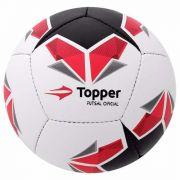 Bola De Futsal Topper Oficial Seleção Costurada