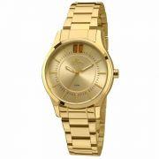 Relógio Allora Feminino Analógico Dourado - Al2036cn/4x