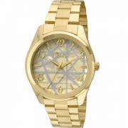 Relógio Condor Feminino Dourado Co2035klw 4x 341173e848