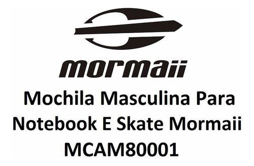 Mochila Mormaii Notebook Mkau66204