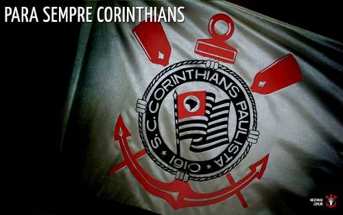 Relógio Technos Masculino Corinthians Oficial Cor2315ab/4p