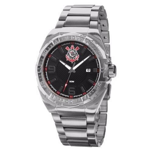 Relógio Technos Masculino Corinthians Oficial Cor2315aa/3p