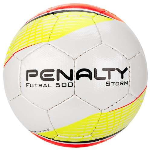 Bola De Futsal Penalty Storm Costurada