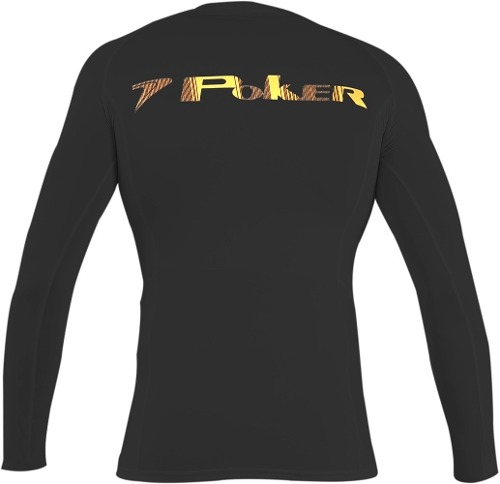 Camisa De Goleiro Poker Under Compressão Manga Longa - Preto