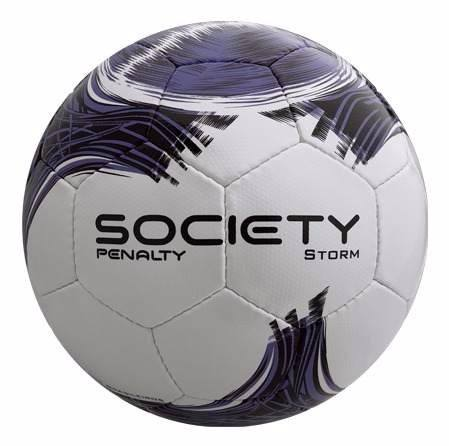 Bola De Society Penalty Storm Costurada