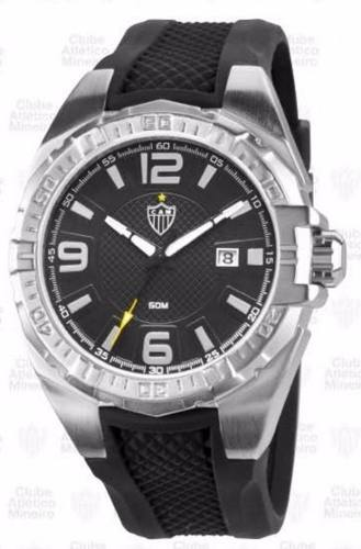 Relógio Atlético Mineiro Masculino Cam2315aa-8p
