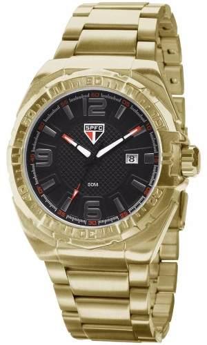 Relógio Technos São Paulo Dourado Sao2315ak4p - Naná Sports 219d7dcb6ca22