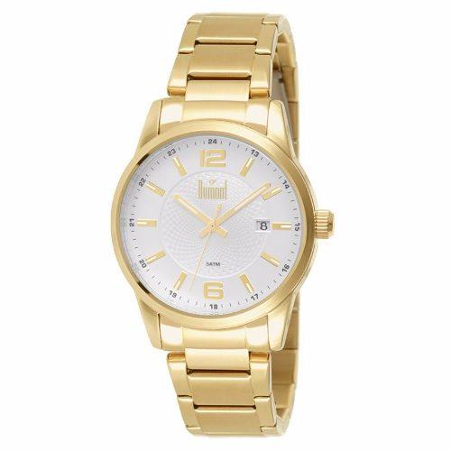 Relógio Dumont Masculino Dourado Du2315aa/4k