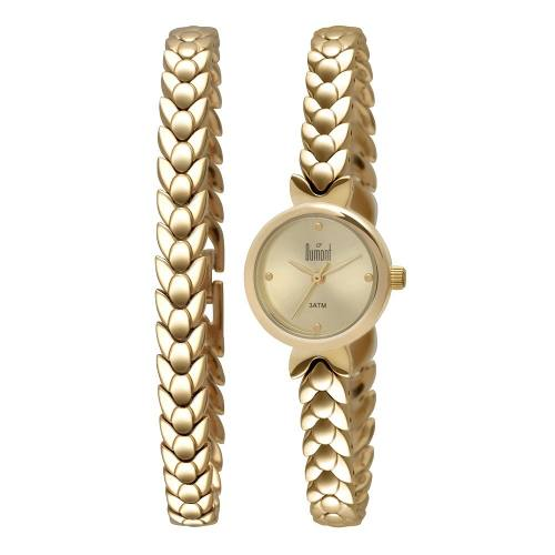 Relógio Dumont Feminino Troca Pulseira Du2035lod/4d