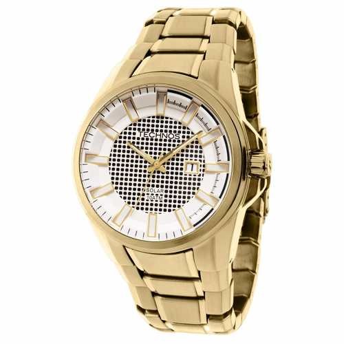 Relógio Technos Masculino Classic Solar As37ab/4b