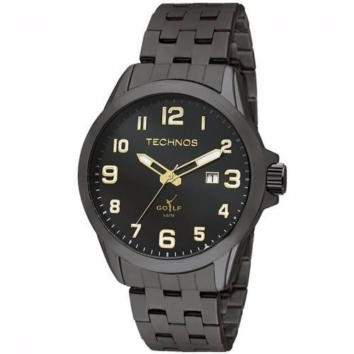 Relógio Technos Classic Golf Masculino 2115knx/1p