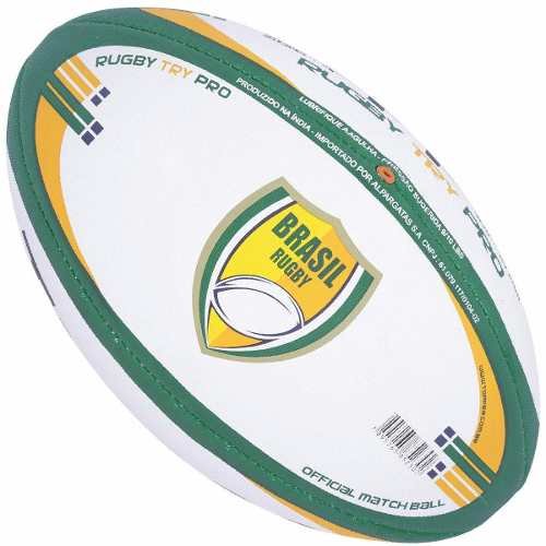 Bola De Rugby Topper Try Profissional N4