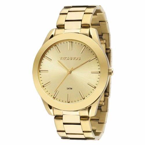 Relógio Technos Classic Steel Feminino Dourado 2035lrp/4x