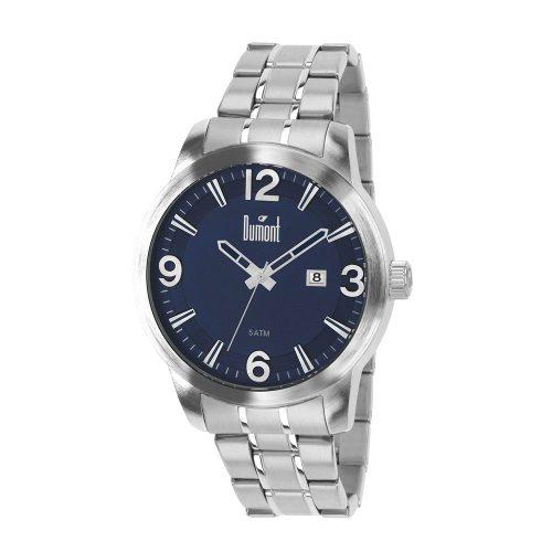 8c6adc7c106 Relógio Dumont Masculino Prata Du2315ap 3a - Naná Sports
