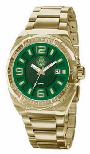 Relógio Palmeiras Dourado Technos Pasa02315ak/v