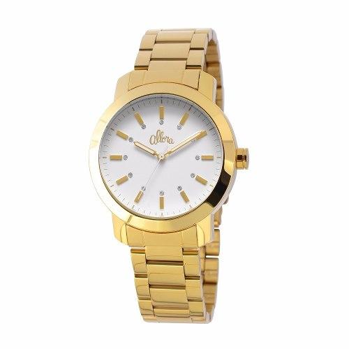 Relógio Feminino Allora Analógico Lilian Al2035lh/4b