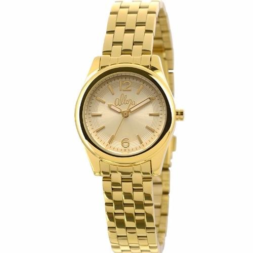 Relógio Allora Feminino Analógico Dourado - Al2035lt/4d