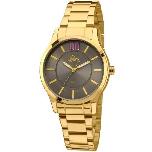 Relógio Allora Feminino Analógico Dourado - Al2036cn/4k