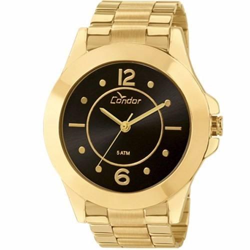 Relógio Condor Feminino Dourado Cotw2036ii/4m