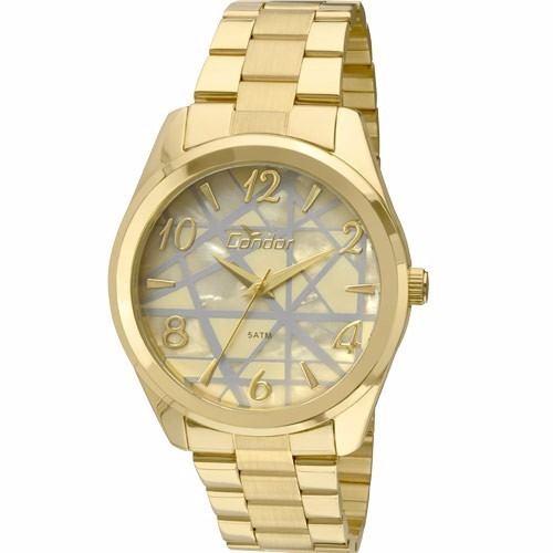 Relógio Condor Feminino Dourado Co2035klw/4x