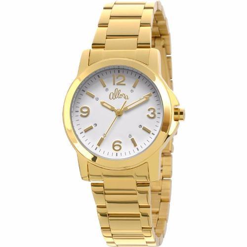 Kit Relógio Allora Feminino Viviane Dourado - Al2035ls/4b