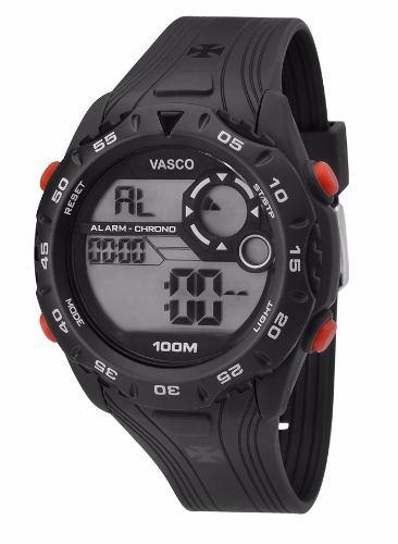 Relógio Technos Vasco Da Gama Digital Vas13602a/8p