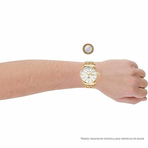 Relógio Technos Dourado Masculino Golf - Naná Sports 4dfb5f894b