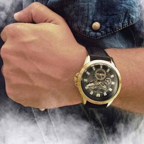 Relógio Masculino Technos Time De Heróis Judô 6p79bb 8p - Naná Sports bb242cfa21