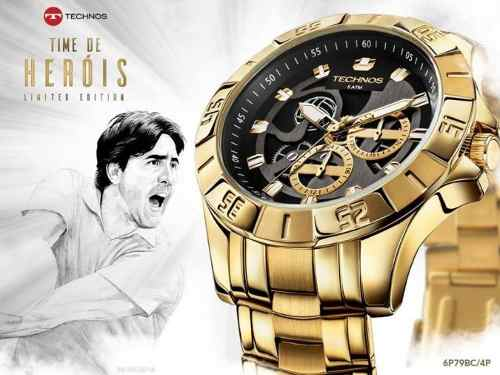 Relógio Masculino Technos Time De Heróis Vôlei 6p79bc/4p