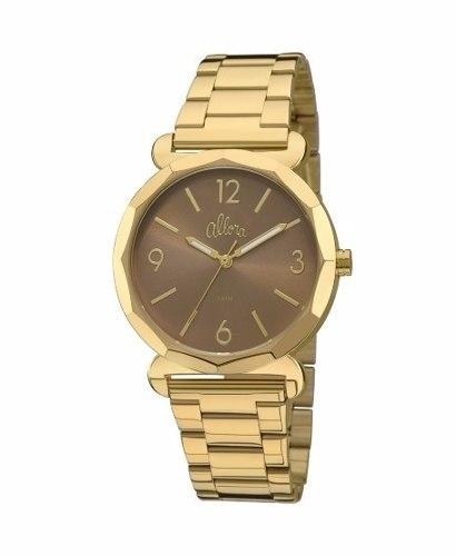 Kit Relógio Allora Par Perfeito Almas Gêmeas Al2035fay/k4m