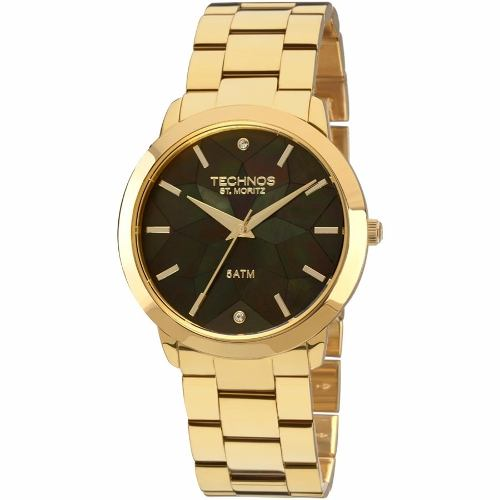 Relógio Feminino Technos Elegance St. Moritz 2036lno/4p