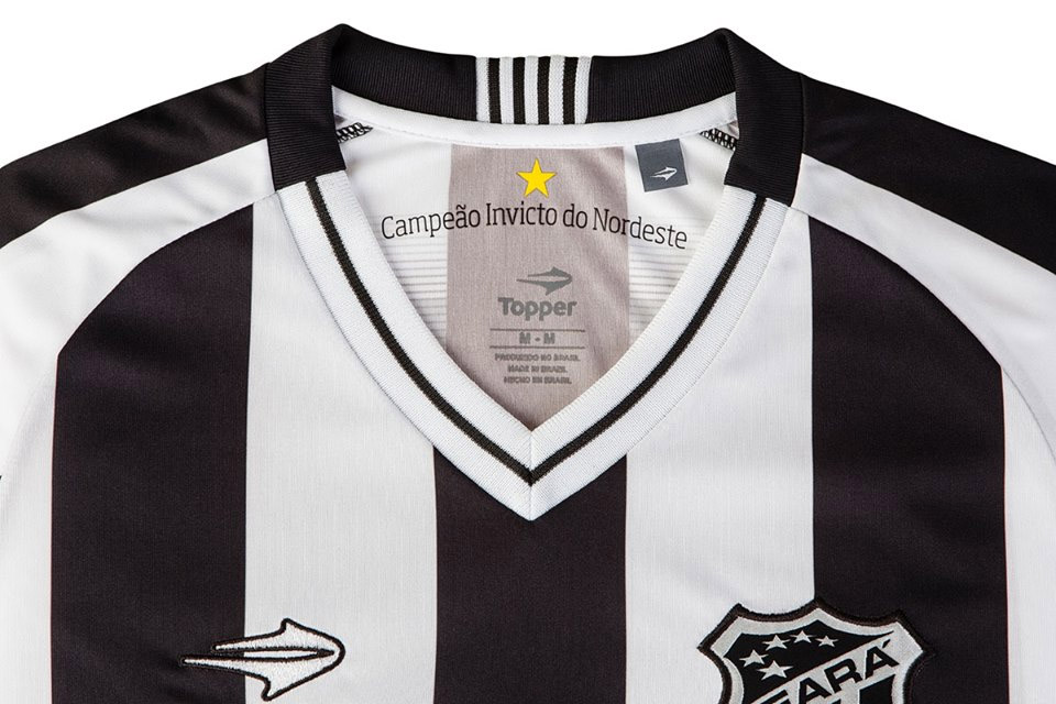 Camisa Oficial Do Ceará Topper 2017