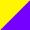 Amarelo / Violeta escuro