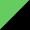 Verde claro / Preto
