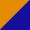 Laranja / Azul escuro