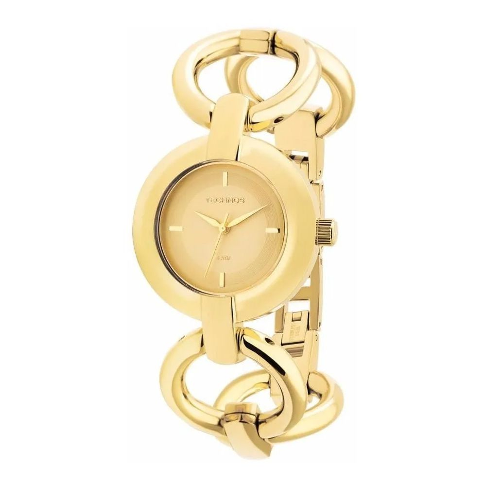 Relógio Technos Feminino Dourado Fashion Unique 2035lqf/4x