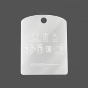 Gabarito para Dobras de Camisetas ACRÍLICO - 27x35cm (ZIG 2)