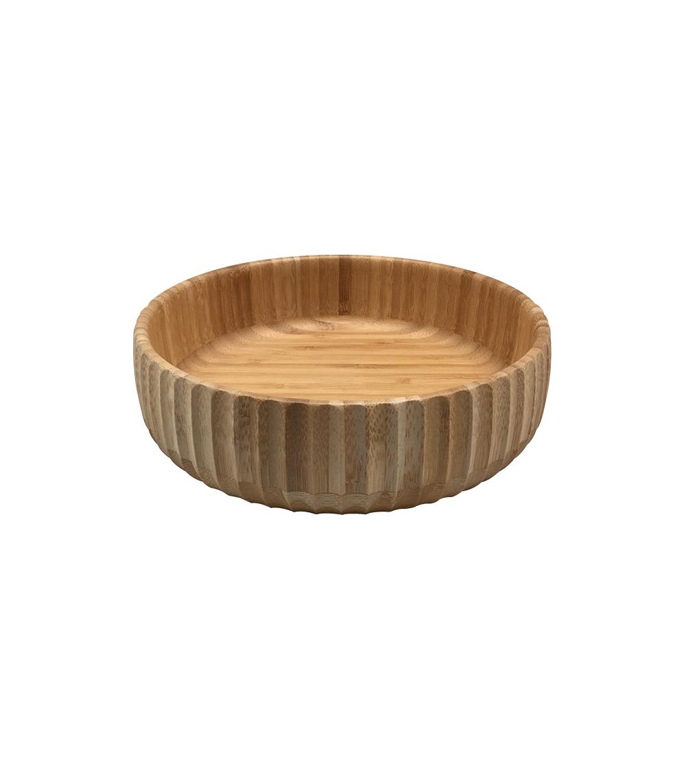 Bowl Canelado De Bambu G