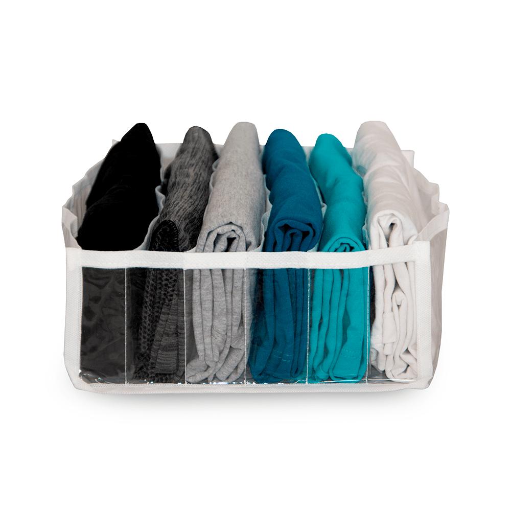 Colmeia Organizadora de Camiseta / Organizador de Gavetas Br - Kit com 3 Peças