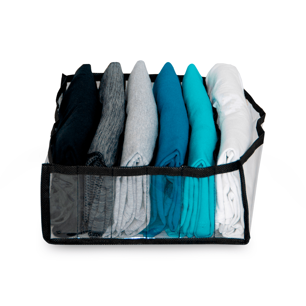 Colmeia Organizadora de Camiseta Pr / Organizador de Gavetas - Kit com 3 Peças