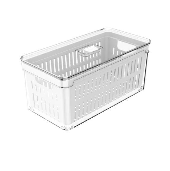 Organizador Clear Fresh  Com Cesto 5 Litros Acrílico