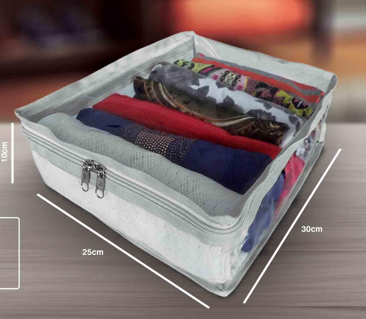 Organizador Plástico - Mala da Mala 2 - 25X30X10CM Branca