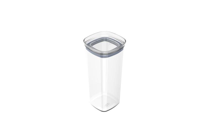 Pote Hermético Block 1,5 Litros Acrílico Cristal