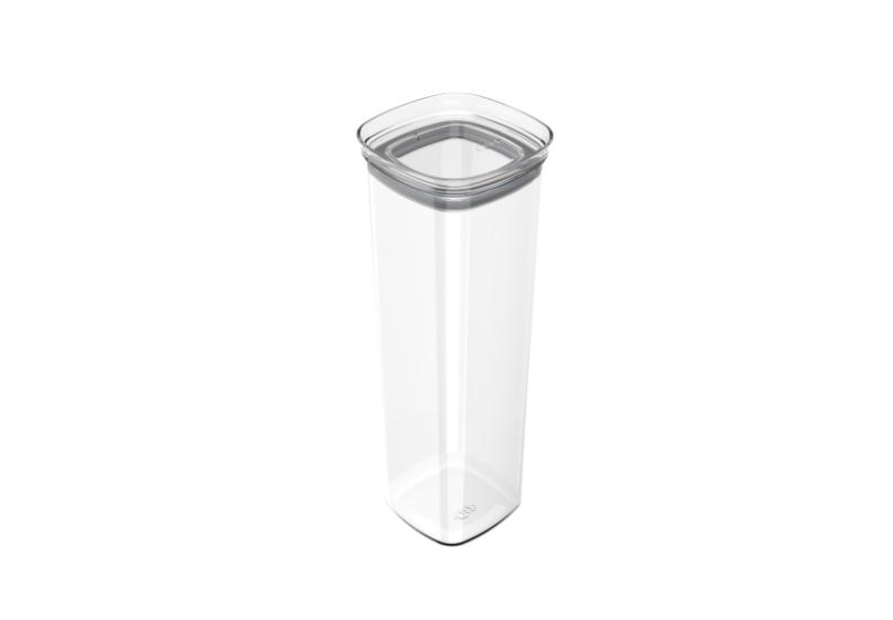 Pote Hermético Block 2 Litros Acrílico Cristal