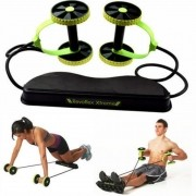 Elastico Roda para Exercicio Abdominal Revoflex Aparelho Musculacao Portatil (BSL-FLEX-1)