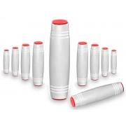 Fidget Mokuru Stick Bastao Roller Anti Stress Branco Kit com 10 Unidades (bsl-gira-4 mokuru kit-10)