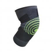 Joelheira Elastica 3D bandagem  Joelhos Compressão Academia Exercício Estabilidade Articulação Fitness Apoio Suporte