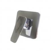 Registro Misturador Monocomando Banheira Chuveiro Banheiro Cromado Base Quadrado