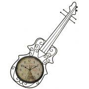 Relogio Parede Violino Vintage Retro Decorativo Plan Paris (REL-44)