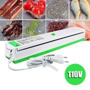 Seladora a Vacuo Eletrica Termica Alimentos 110V Embaladora Produtos